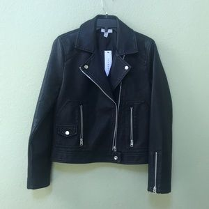 NWT Topshop faux leather jacket